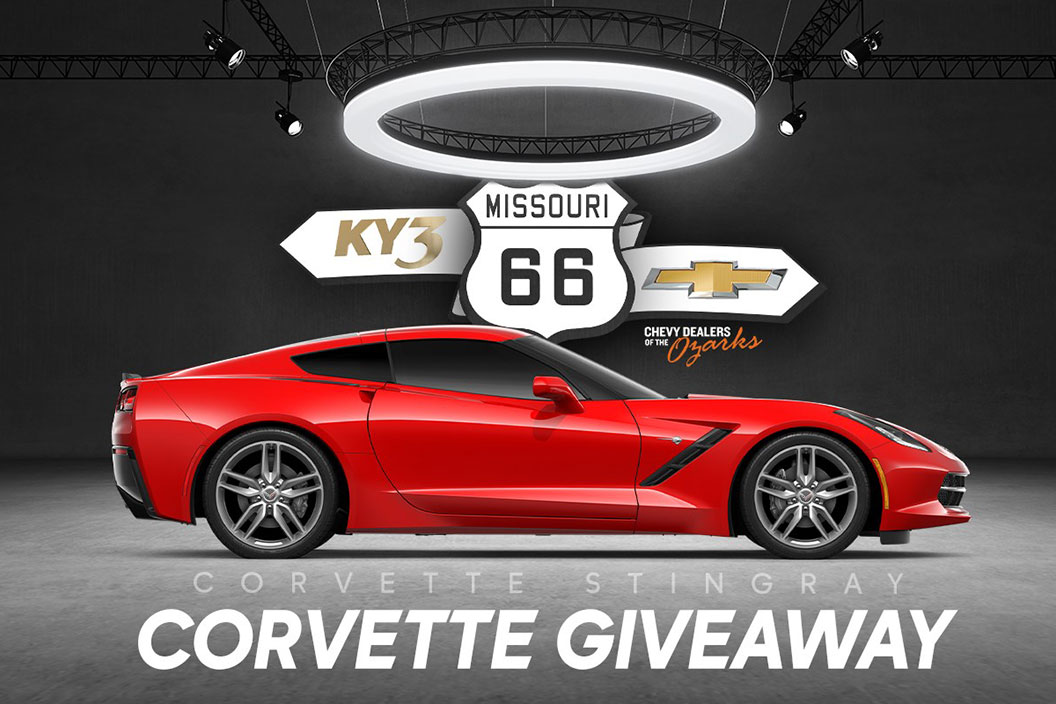 bright red 2019 chevrolet corvette